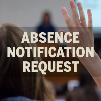 Class Absence Notification Request Form