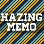 Hazing Memorandum