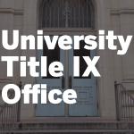 University Title IX Office