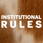 Institutional Rules