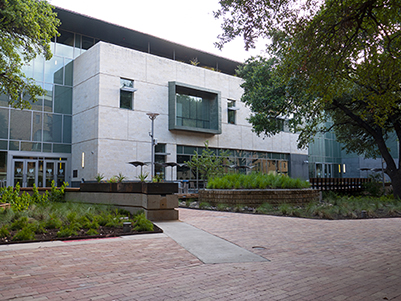Photo of the William C. Powers, Jr. Student Activity Center (WCP)