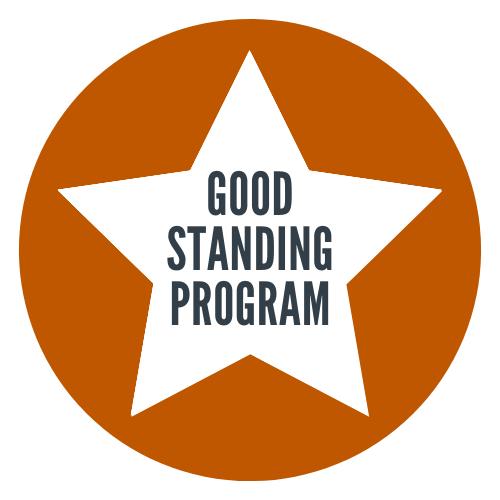 Good Standing Program